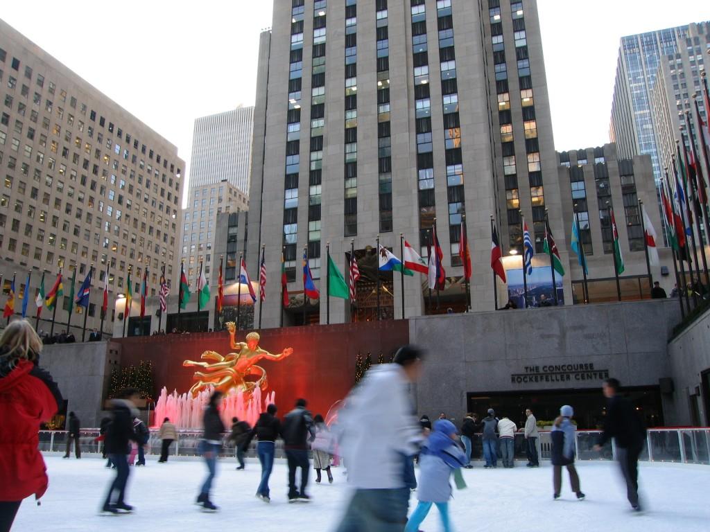 New-York se prépare à Noël